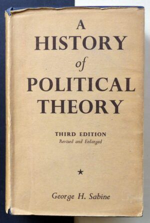 SABINE, George H. - A History of Political Theory